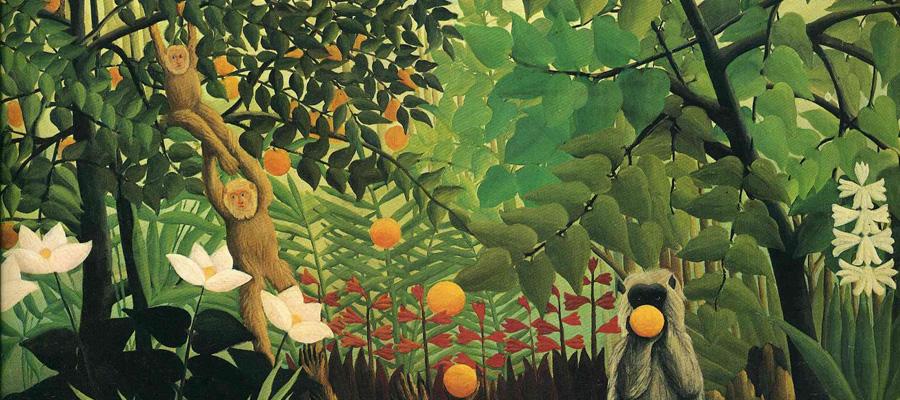 En Rousseau i els seus amics animals als Dissabte d'art. Taller per a infants
