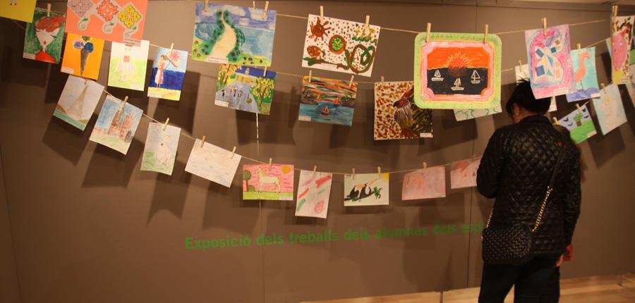 Mostra dels alumnes de les escoles d'art al CAEE