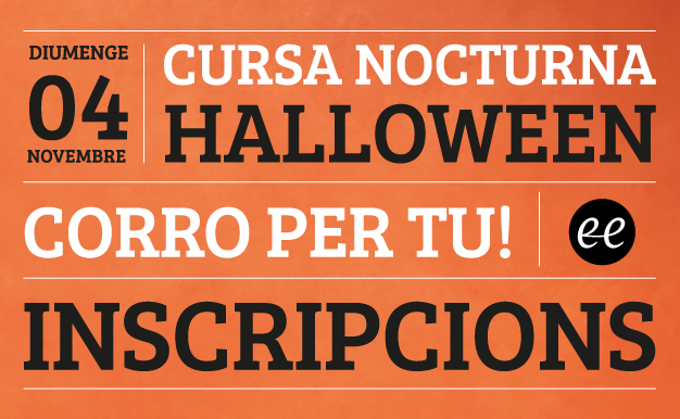 Inscripcions cursa Halloween