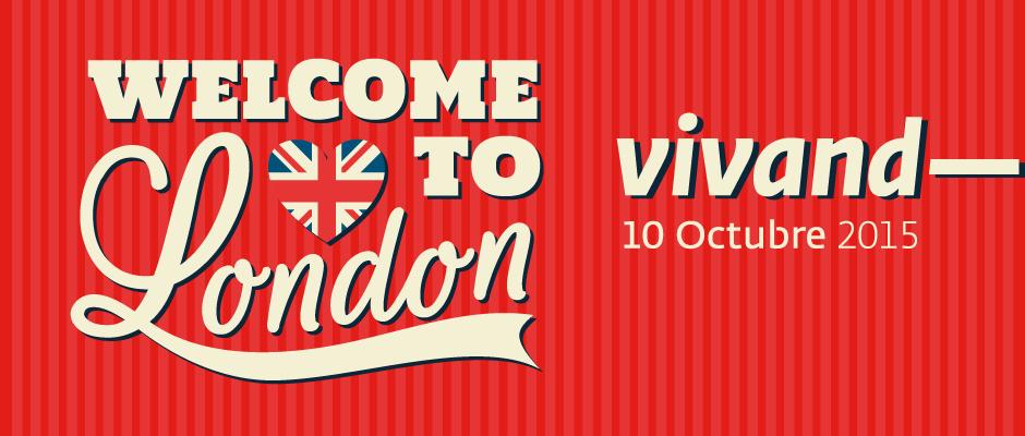"""El pròxim dia 10 d'octubre a Vivand """"London Go"""""""