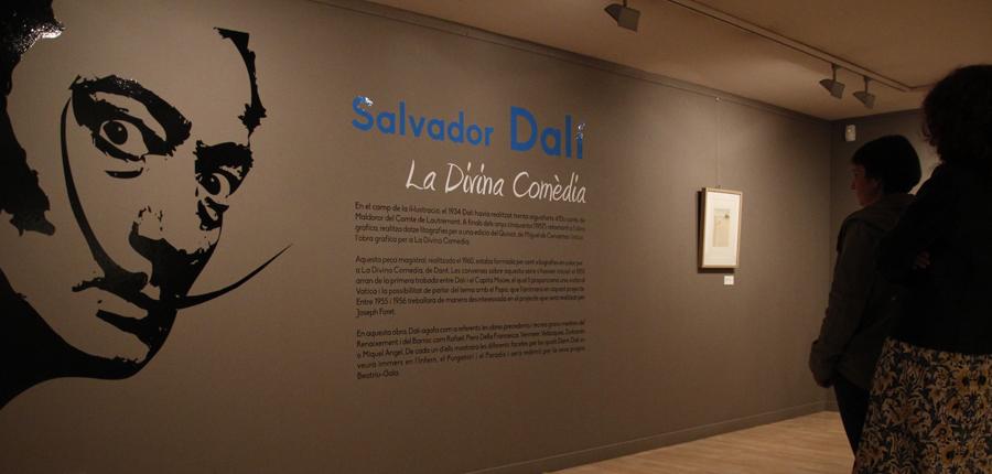 """'Dalí. La Divina Comèdia"""" es converteix en l'exposició més visitada des de l'obertura del Centre d'Art d'Escaldes-Engordany"""