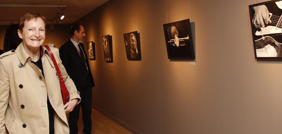 'Le jazz au bout des doigts', una exposició de Sophie Le Roux al Centre d'Art