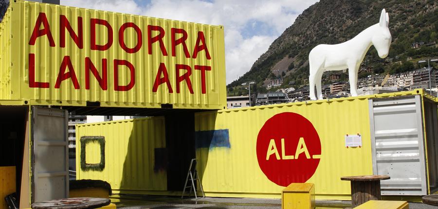 Tret de sortida a l'Andorra Land Art (ALA)