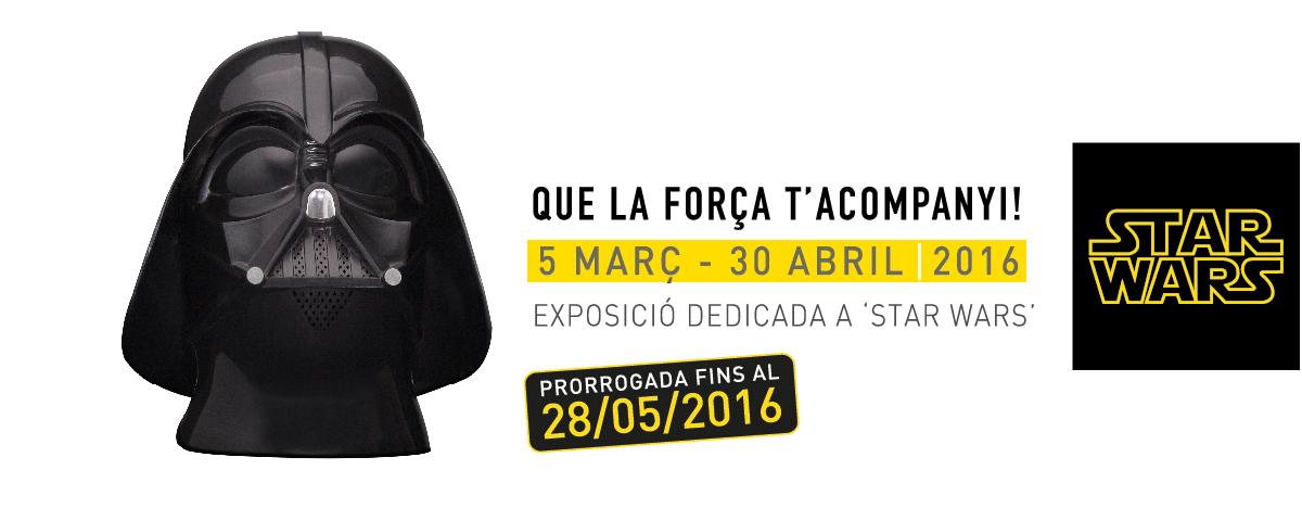 L'exposició d'Star Wars es pot visitar fins al 28 de maig