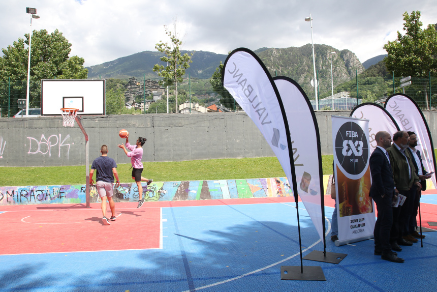 L'espectacle del 3x3 a Escaldes-Engordany